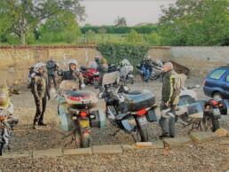 Parking motos à Vichy