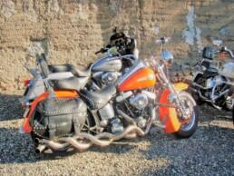 parking motos aux environs de vichy